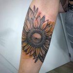 Floral tattoo por Márcio Valle