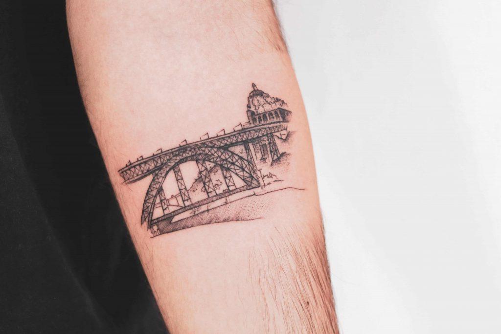 Tatuagem no Porto